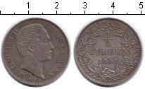 Изображение Монеты Бавария 1/2 гульдена 1859 Серебро UNC-