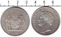 Изображение Монеты Саксония 1 талер 1865 Серебро UNC-