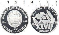 Изображение Монеты Северная Корея 250 вон 1997 Серебро Proof- Олимпиада Сидней 200