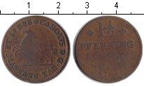 Изображение Монеты Брауншвайг-Люнебург 1 1/2 пфеннига 1747 Медь VF