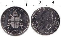 Изображение Монеты Ватикан 100 лир 2001 Медно-никель UNC-