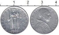 Изображение Мелочь Ватикан 5 лир 1953 Алюминий XF