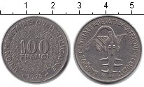 Изображение Монеты Западная Африка 100 франков 1975  XF