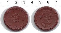 Изображение Монеты Саксония 1 марка 1921 Керамика XF Мартин Лютер