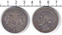 Изображение Монеты Анхальт 1 талер 1859 Серебро XF Александр Карл