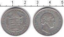 Изображение Монеты Саксония 1/6 талера 1847 Серебро XF Фридрих Август II