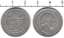 Изображение Монеты Саксония 1/6 талера 1847 Серебро XF