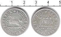 Изображение Монеты Брауншвайг-Люнебург 1/12 талера 1718 Серебро VF
