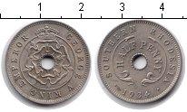 Изображение Монеты Родезия 1/2 пенни 1934 Медно-никель XF Георг V