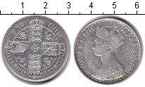 Изображение Монеты Великобритания 1 флорин 0 Серебро XF Виктория.