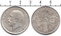 Изображение Монеты Великобритания 1 флорин 1919 Серебро XF