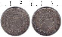 Изображение Монеты Саксония 1/3 талера 1854 Серебро XF Фридрих Август II