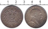 Изображение Монеты Баден 2 марки 1902 Серебро