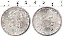 Изображение Монеты Чехословакия 100 крон 1974 Серебро XF 150-летие Бедрича См