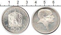 Изображение Монеты Чехословакия 50 крон 1978 Серебро XF 100-летие Зденека Не