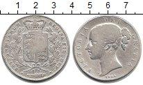 Изображение Монеты Великобритания 1 крона 1844 Серебро XF Виктория