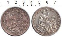 Изображение Монеты Перу 1 соль 1934 Серебро XF