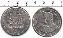 Изображение Монеты Танзания 20 шиллингов 1981 Медно-никель UNC-