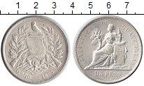 Изображение Монеты Гватемала 1 песо 1894 Серебро XF