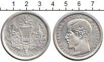 Изображение Монеты Гватемала 1 песо 1894 Серебро XF Президент Рафаэль Ка