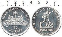 Изображение Монеты Гаити 50 гурдов 1973 Серебро Proof-