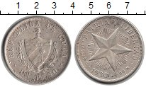 Изображение Монеты Куба 1 песо 1933 Серебро XF