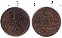 Изображение Монеты Бавария 1 пфенниг 1862 Медь XF