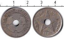 Изображение Монеты Бельгийское Конго 10 сантимов 1911 Медно-никель VF Звезда.