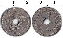 Изображение Монеты Бельгийское Конго 10 сантимов 1911 Медно-никель XF
