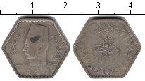 Изображение Монеты Египет 20 пиастров 1944 Серебро VF
