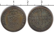Изображение Монеты Шварцбург-Зондерхаузен 1 грош 1851 Медь XF