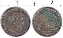 Изображение Монеты Дания 25 эре 1905 Серебро VF