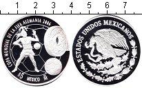Изображение Монеты Мексика 5 песо 2006 Серебро Proof Чемпионат мира по фу