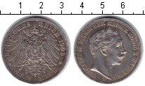 Изображение Монеты Пруссия 3 марки 1908 Серебро VF