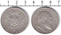 Изображение Монеты Вюртемберг 3 марки 1912 Серебро XF