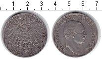 Изображение Монеты Саксония 3 марки 1909 Серебро XF Фридрих