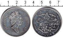 Изображение Монеты Канада 1 доллар 1994 Серебро XF Елизавета II