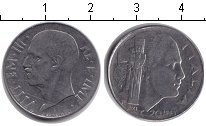 Изображение Монеты Италия 20 сентесим 1943 Медно-никель VF