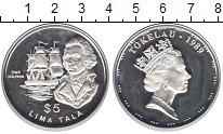 Токелау 5 тала 1989 Серебро