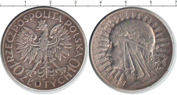 Польская монета 10 злотых 1932 года цена перенаправлено на верный адрес