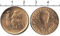 Изображение Монеты Сан-Марино 200 лир 1997  UNC- Художник