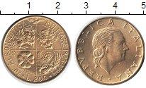 Изображение Монеты Италия 200 лир 1993 Медь XF