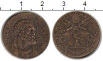 Изображение Монеты Ватикан 10 сентим 1939  VF