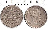 Изображение Монеты Саксония 1 талер 1829 Серебро XF