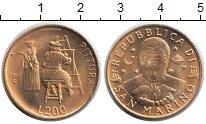 Изображение Монеты Сан-Марино 200 лир 1997  UNC-