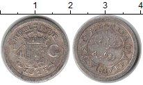 Изображение Монеты Нидерландская Индия 1/4 гульдена 1913 Серебро VF