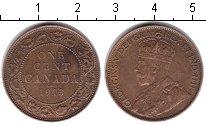 Изображение Монеты Канада 1 цент 1913 Медь XF Георг V