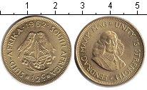 Изображение Монеты ЮАР 1/2 цента 1962  UNC- птички