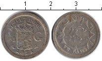 Изображение Монеты Нидерландская Индия 1/4 гульдена 1921 Серебро VF