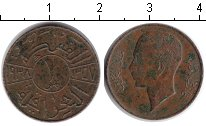Изображение Монеты Ирак 1 филс 1938 Медь VF